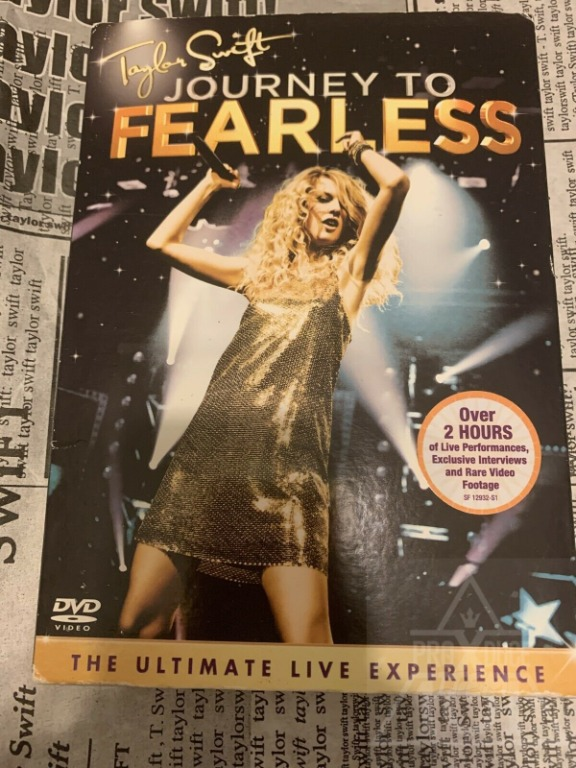 Taylor Swift Journey To Fearless Dvd Music Media Cd S Dvd S Other Media On Carousell
