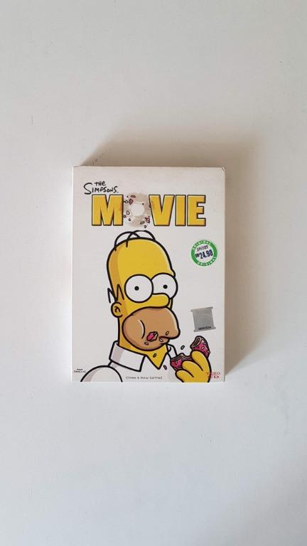 The Simpsons Movie With Chinese Malay Subtitles Vcd Music Media Cd S Dvd S Other Media On Carousell