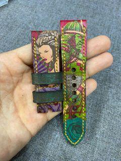 Tunx Samurai Geisha watch strap 24mm