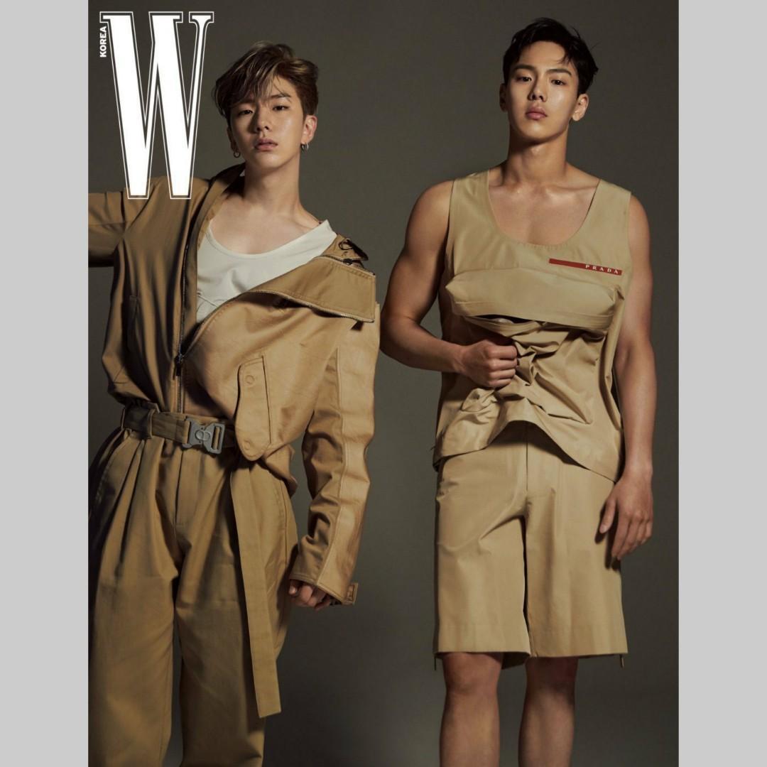 W Korea - Monsta X Shownu & Kihyun Content, Lee Dong Wook cover