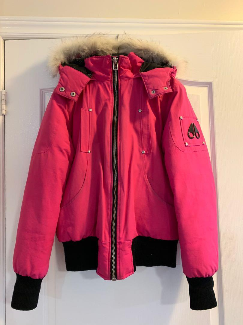 Authentic Pink Moose Knuckle Jacket