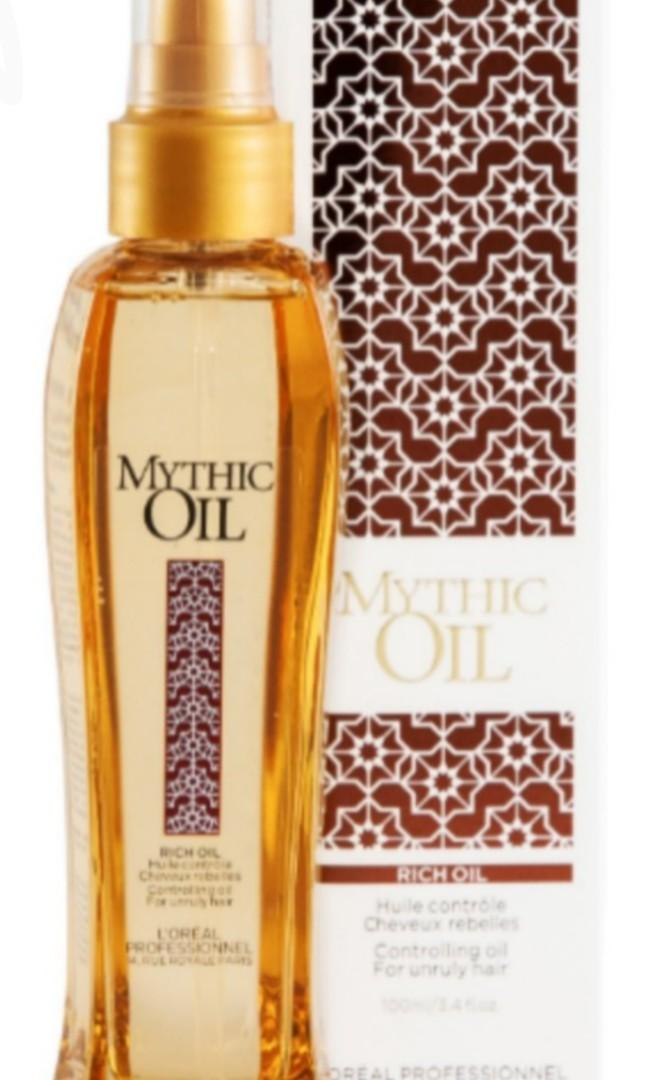 Brand New L'Oreal Professional Mythic Oil 3.4oz