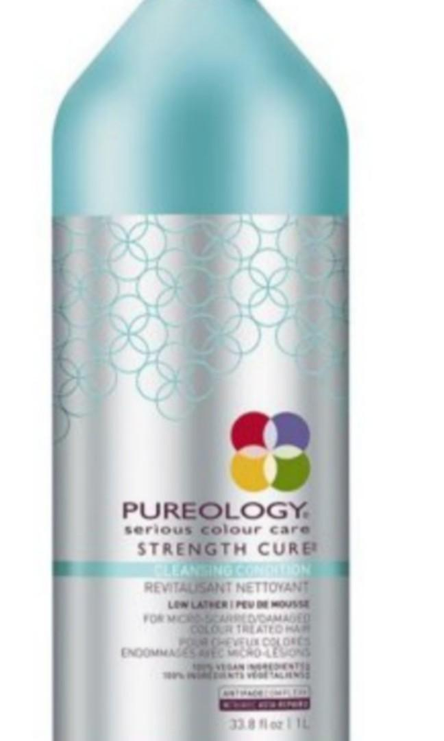 Brand New Pureology Strength Cure Cleansing Condition - 2 in 1