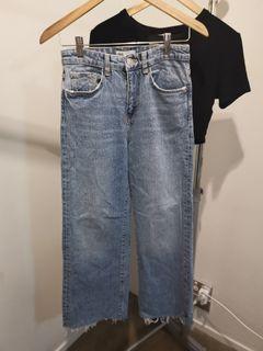 Brand new ZARA straight leg jeans