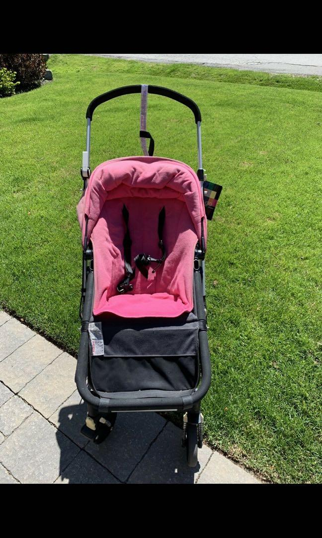 Bugaboo Cameleon stroller with many accessories