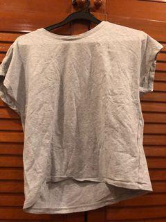 Grey Uniqlo top