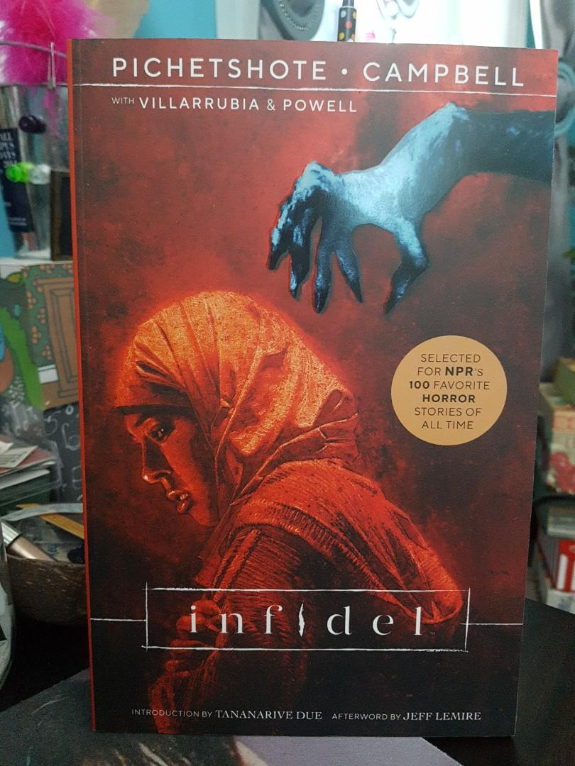 Infidel by Aaron Campbell and Pornsak Pichetshote