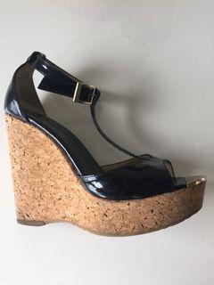 Jimmy Choo Wedge Sandals - Size 39.5