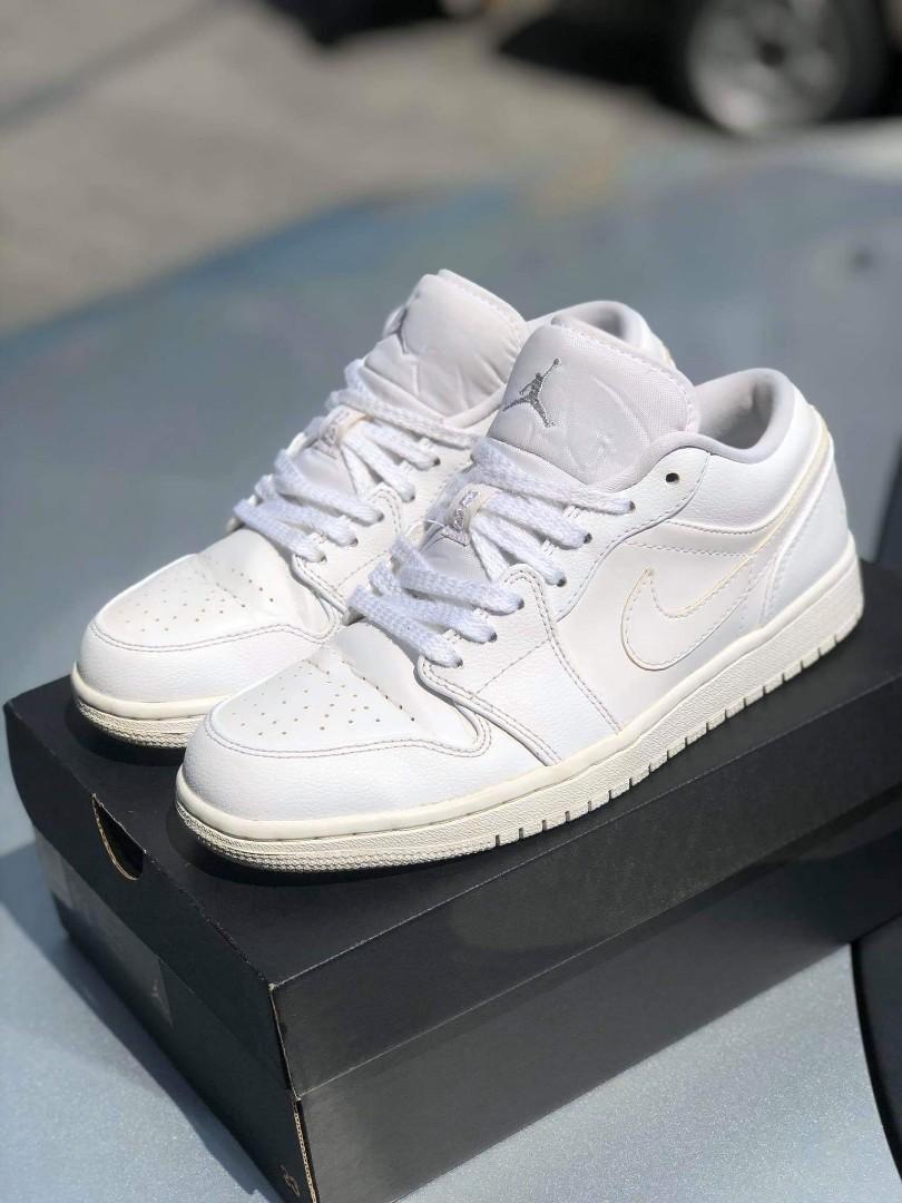 Nike Air Jordan 1 Low White / Pure