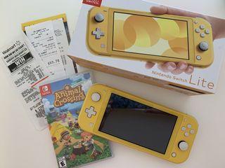 Nintendo Switch Lite + Animal Crossing New Horizons Bundle
