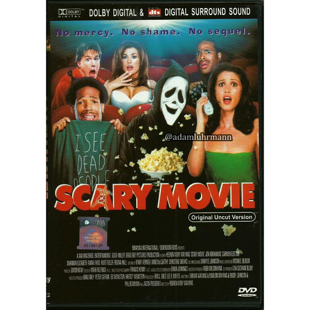 Scary Movie 1 Dvd Uncut Version 2000 Music Media Cd S Dvd S Other Media On Carousell