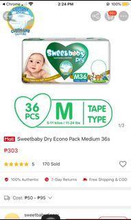 Sweetbaby Dry Medium Tape type
