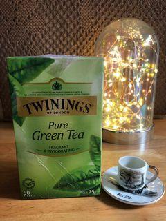 Twinings Pure Green Tea 50bags