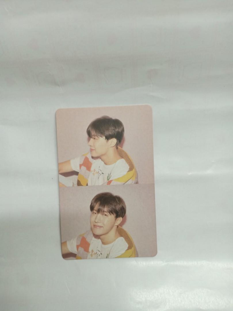 WTT WTS MOTS Persona jhope photocard BTS (can top-up rm10 for trading)