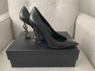 YSL Opyum Black heel pumps - 37.5