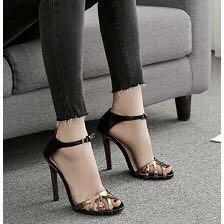 歐美新款羅馬式高跟鞋