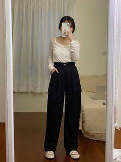 Another.q小隻女也能穿的工裝褲