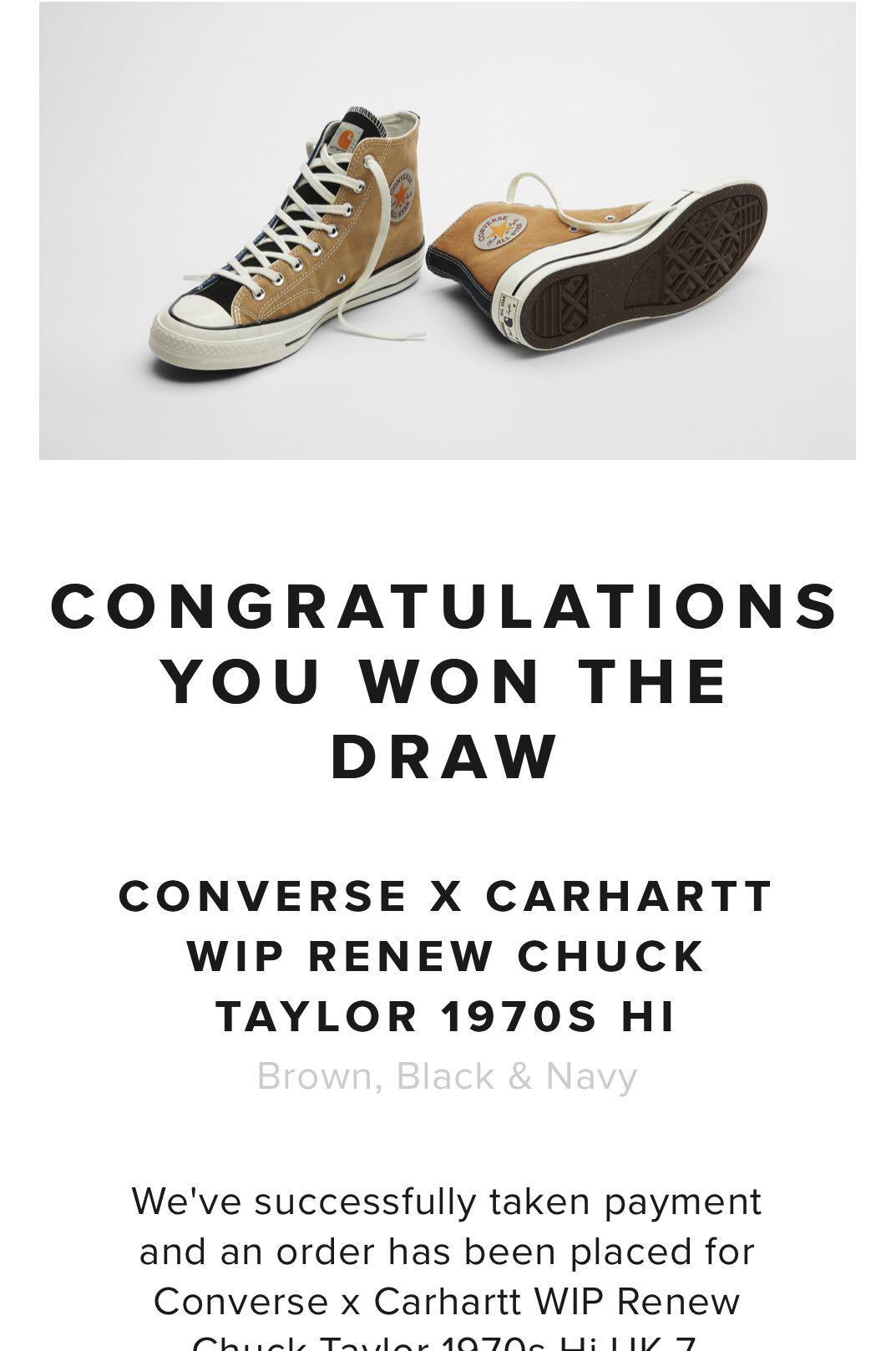Converse x Carhartt WIP Renew Chuck 70s