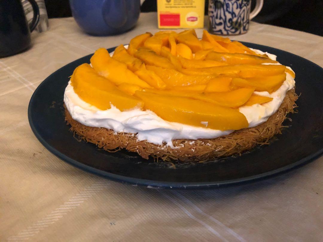 Home made fresh mango pie