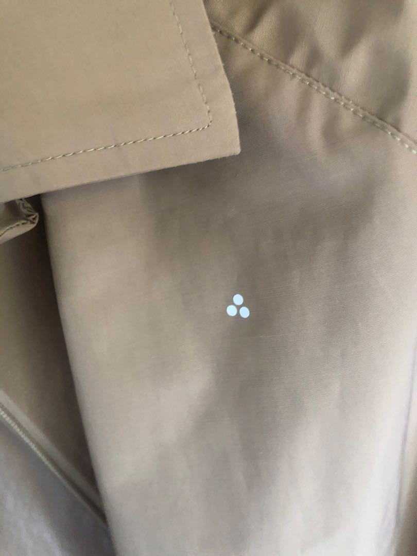 Huffer trench coat size 10