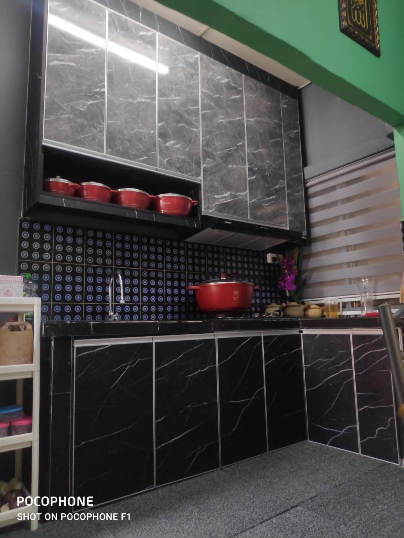 Kabinet Dapur Melamine Kapar Home Furniture Furniture On Carousell