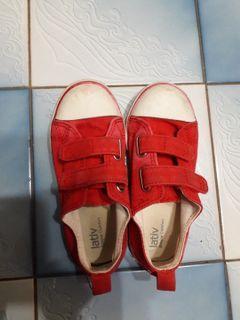 Lativ 兒童 帆布鞋 尺寸17.5