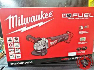 Milwaukee M18 CAG100X-0 grinder (BARE TOOL)