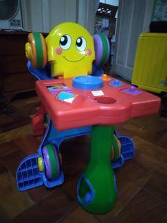 Multi-function Push Walker Ride On Toy