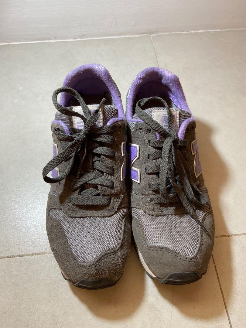 new balance 373 purple