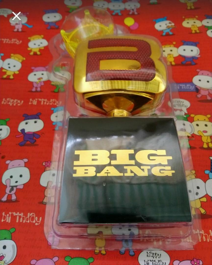 NEW!! K POP-BIGBANG:10TH ANNIVERSARY PENLIGHT STICK(GOLD)-concert souvenir(100% Japan official limited edition original)-FREE SHIPPING
