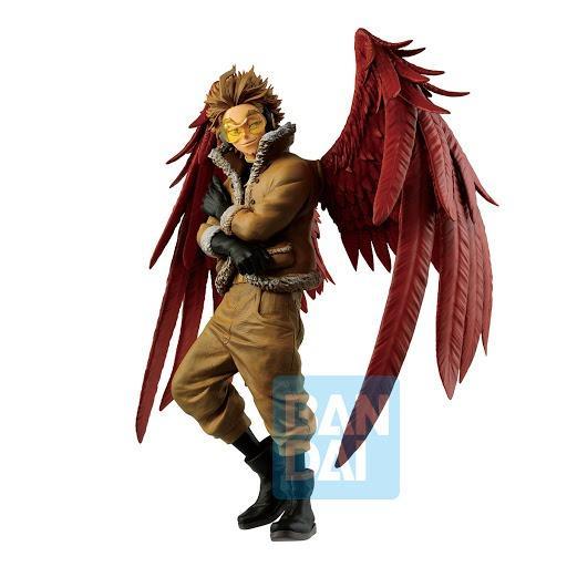 Banpresto Ichiban Kuji My Hero Academia D prize Hawks Figure Japan Izuku Bakugo
