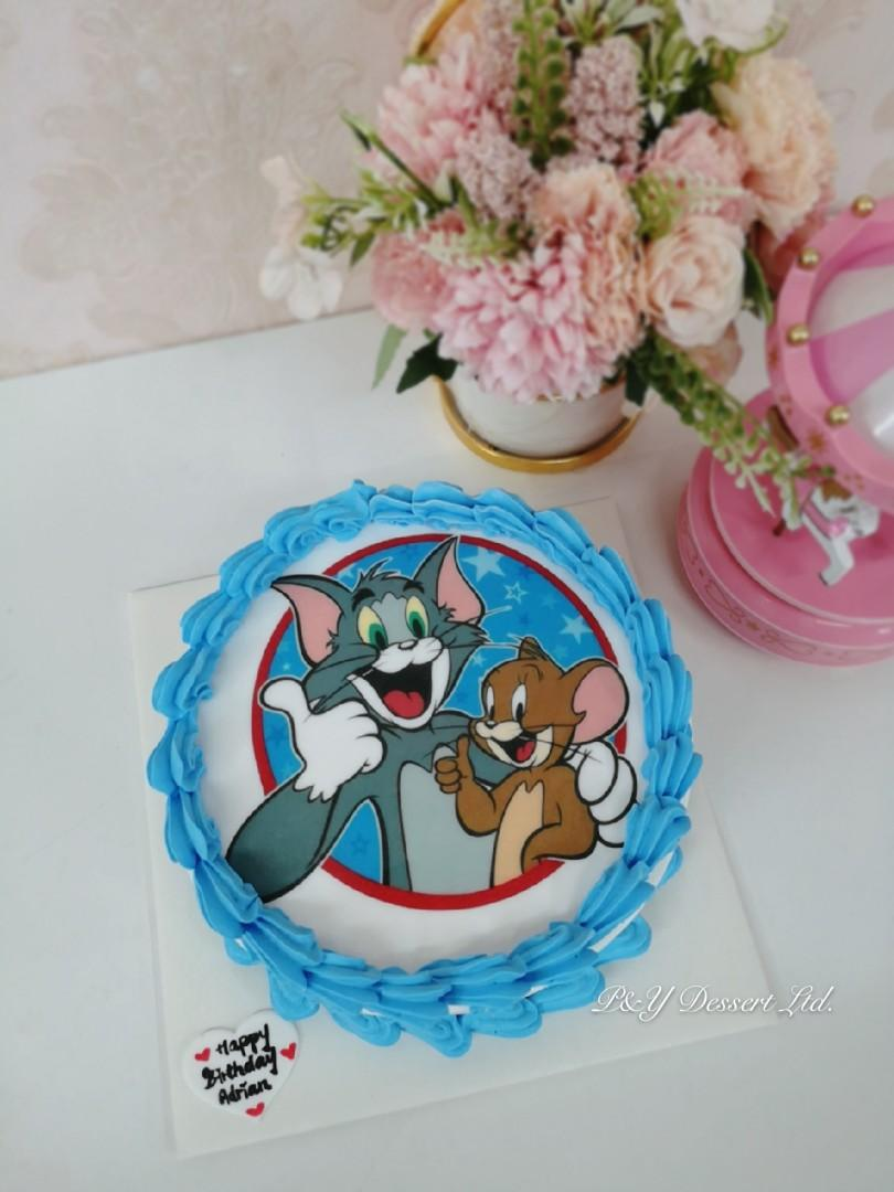 Tom And Jerry Cake Design Amp Craft Design Amp Craft