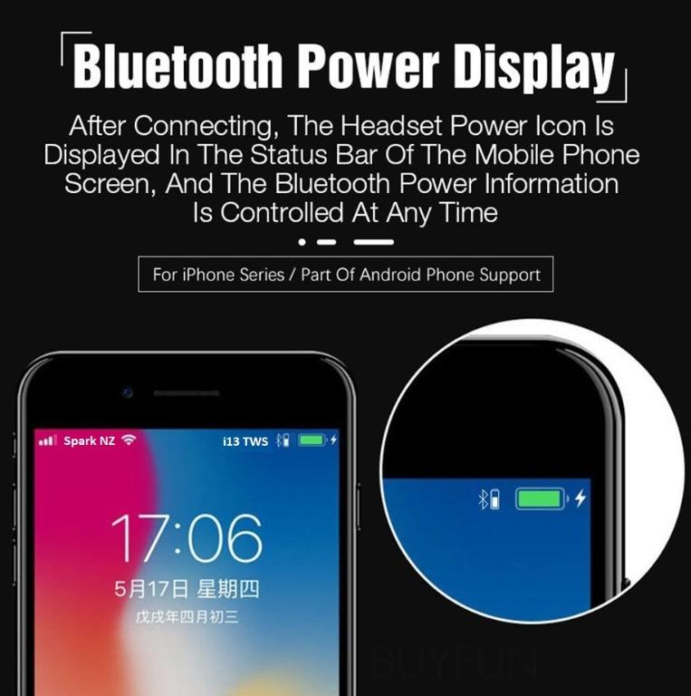 UNBELIEVABLE DEAL!! i13 TWS Bluetooth 5.0 Earbuds Wireless Charging Case