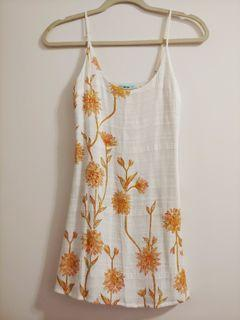 Urban Outfitters Kimchi Blue Linen Dress - Size XS