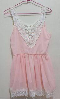 粉紅小洋裝❤現貨可以直接下單