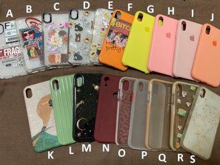 Casing iPhone XR murah meriah case HP lucu pink