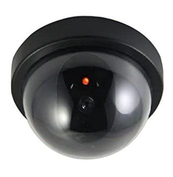 Dome Dummy Security CCTV Surveillance Camera with Flashing LED Light