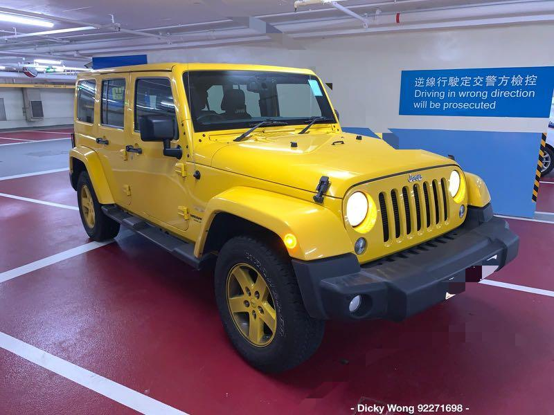 Jeep Wrangler Unlimited Sahara Auto