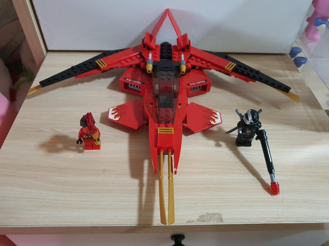 Lego Ninjago Kai Fighter, Toys & Games, Bricks & Figurines ...