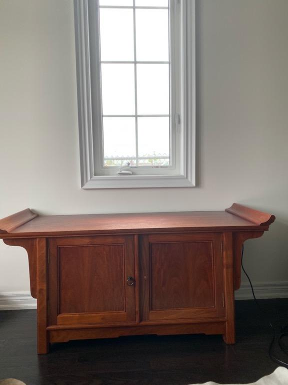 RECLAIMED ROSEWOOD CONSOLE TABLE