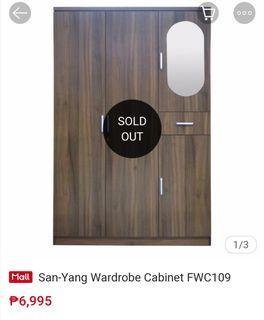 SanYang Wardrobe Cabinet
