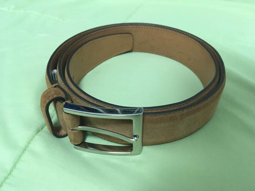 Suede Leather Belt (Saddler Scandinavia)