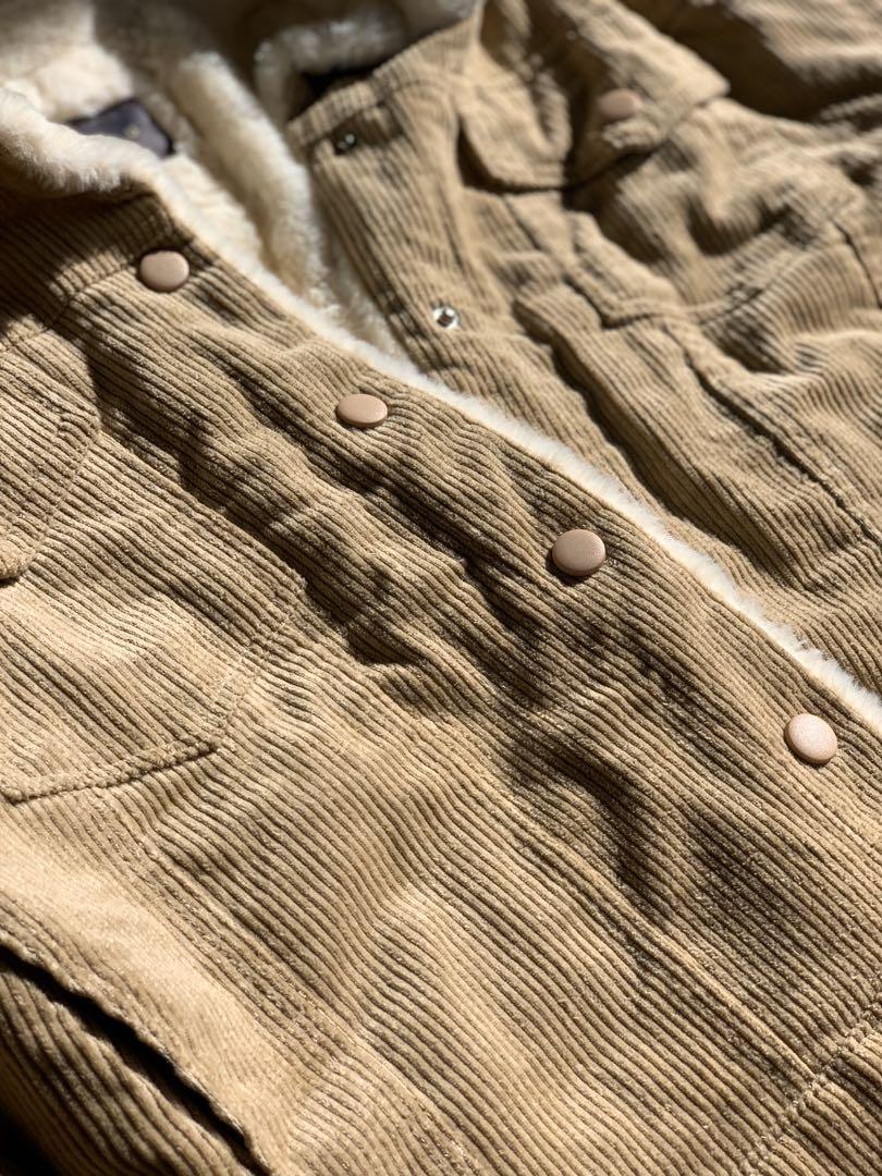 Tan Cord Jacket
