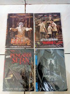4 Kaset Dvd horor