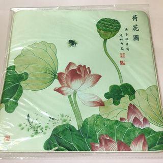 絲綢滑鼠墊 Silk Mouse Pad (荷花 Lotus)