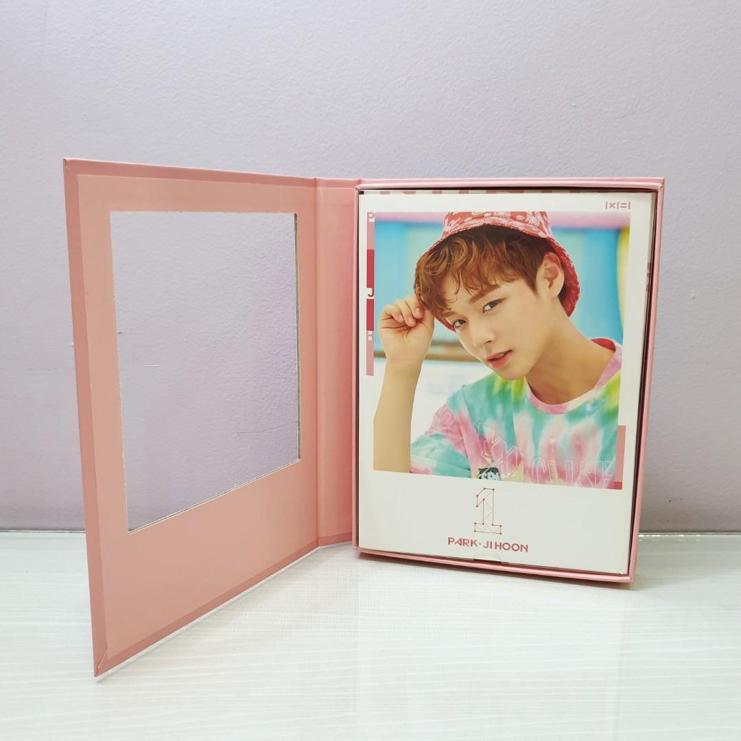 Album WANNA ONE To Be One (Pink Ver.) - Park Ji Hoon