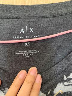 AX女棉質上衣 深灰色