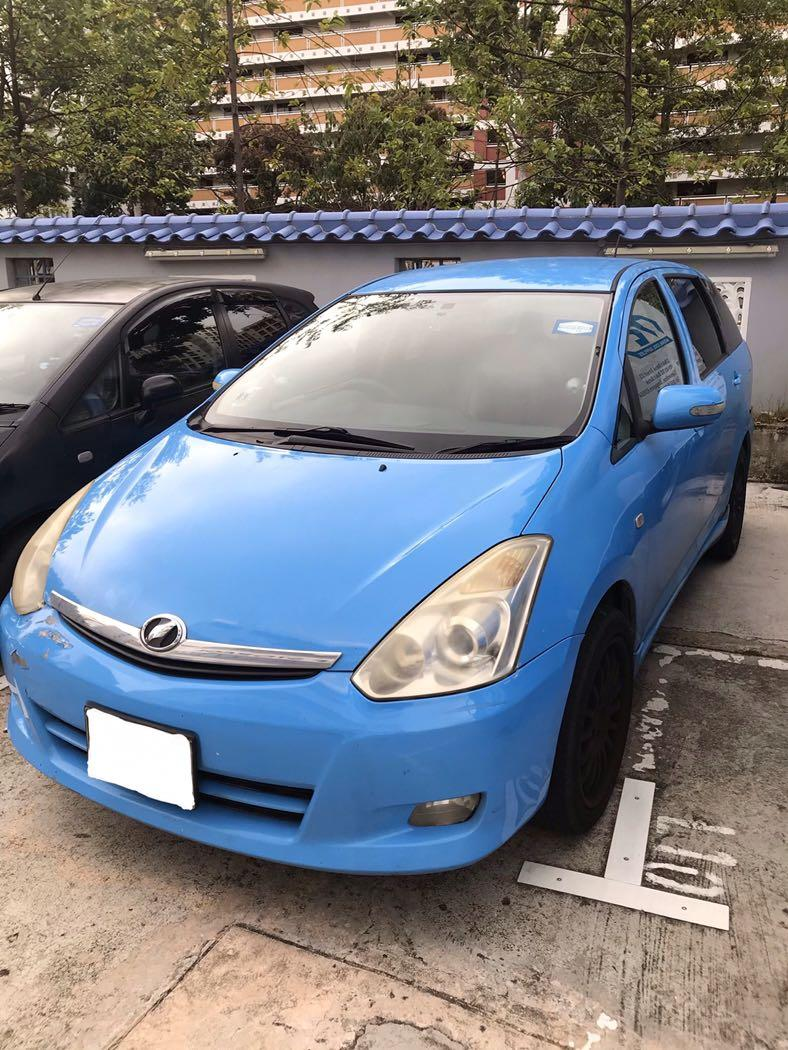 Car Rental ** Toyota Wish $350weekly for this CB period!