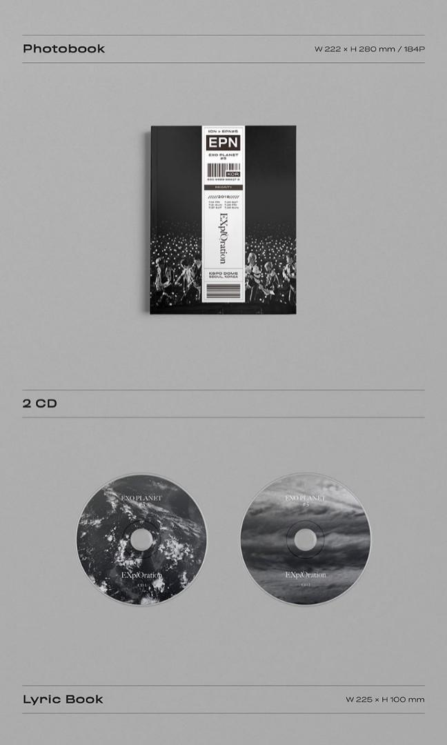 EXO - EXO PLANET #5 -EXplOration Photobook & LiveAlbum