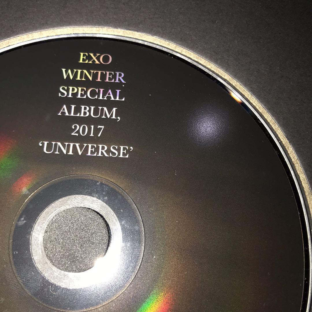 EXO ALBUM ; EXO 2017 WINTER SPECIAL ALBUM (Universe)
